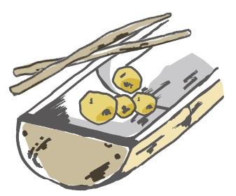竹弁当イラスト