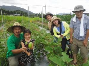 秋川牧園体験ツアー ゆめファーム