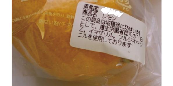 輸入レモン表示