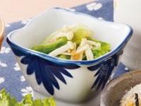 生活提案、レシピ、献立、レタスとえのきの明太子和え、1506