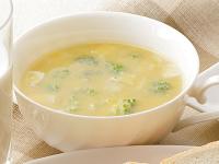 生活提案、レシピ、献立、ブロッコリーとコーンのぽかぽかスープ、1406