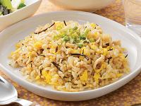 生活提案、レシピ、献立、鶏ササミとひじきの玄米チャーハン、1409