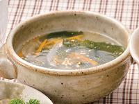 生活提案、レシピ、献立、わかめスープ、1418