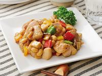 生活提案、レシピ、献立、鶏と大豆のオイスター炒め、1431