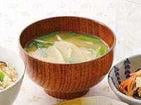 生活提案、レシピ、献立、ニラともやしのお味噌汁、1429