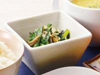 生活提案、レシピ、献立、小松菜の海苔おかか和え、1449