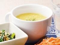 生活提案、レシピ、献立、ふわふわ卵コーンスープ、1449