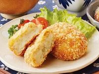 生活提案、レシピ、献立、煮干粉のミネラル鶏そぼろ入りコロッケ、1506