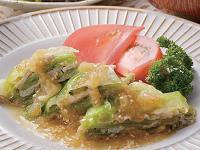 生活提案、レシピ、献立、ゆで豚とレタスの玉ねぎソースサラダ、1420