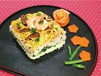 生活提案、レシピ、献立、押しひな寿司、1452