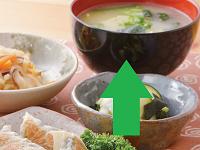 生活提案、レシピ、献立、炒めキャベツとじゃが芋のお味噌汁、1417