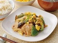 生活提案、レシピ、献立、鶏と卵のごま味噌炒め、1426