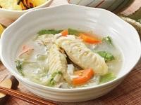 生活提案、レシピ、献立、冬野菜と鶏のすまし仕立て、1445