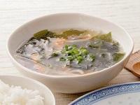 生活提案、レシピ、献立、ワカメともやしのとりがらスープ、1427