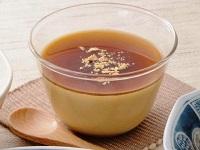 生活提案、レシピ、献立、黒蜜きなこの豆乳プリン、1427