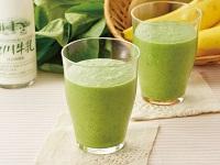 生活提案、レシピ、献立、ミルクと果実のグリーンジュース、1446