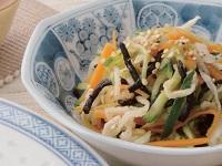 生活提案、レシピ、献立、切干し大根とひじきの中華サラダ、1427