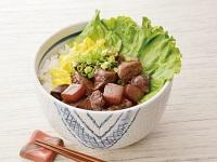 生活提案、レシピ、献立、秋川流絶品レバーとこんにゃくの甘辛丼、1513