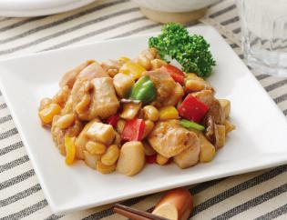 生活提案、レシピ、献立、鶏と大豆のオイスター炒め、31号