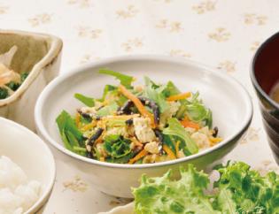 生活提案、レシピ、献立、ひじきの白和え風サラダ、1435号