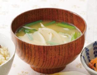 生活提案、レシピ、献立、ニラともやしのお味噌汁、29号
