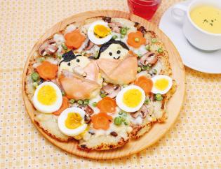 生活提案、レシピ、献立、鶏ごぼう飯でひな祭りピザ、1452