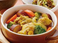 生活提案、レシピ、献立、手羽元とビタミン野菜のあったかカレースープ、1443