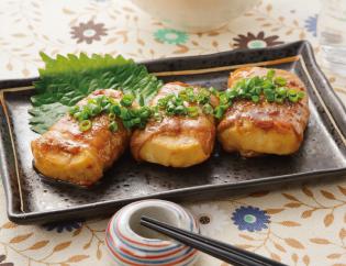 生活提案、レシピ、献立、豆腐の甘辛豚巻き、31号