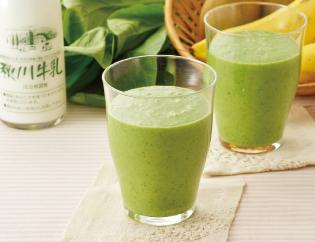 生活提案,レシピ,献立,ミルクと果実のグリーンジュース,1446号