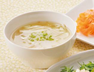生活提案、レシピ、献立、大根と白ねぎの鶏だしスープ、1439号