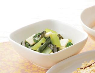 生活提案、レシピ、献立、小松菜のさっぱりお浸し、1409