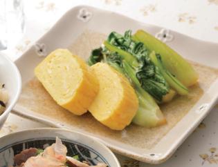 生活提案、レシピ、献立、昼食、チンゲン菜のソテー、1418