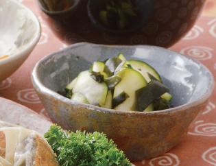 生活提案、レシピ、献立、ズッキーニの酢の物、1417