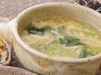 生活提案、レシピ、献立、チンゲン菜のとろとろスープ、1340