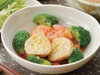 生活提案、レシピ、献立、たまご入り鶏だんご-トマト煮込み、1403