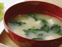 生活提案、レシピ、献立、豆腐と小松菜のお味噌汁、1351