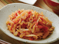 生活提案、レシピ、献立、切干し大根のトマト煮、1351