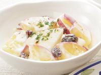 生活提案、レシピ、献立、りんごとお芋のヨーグルトサラダ、1339