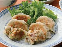 生活提案、レシピ、献立、缶詰でお手軽-さば餃子&納豆餃子、1347