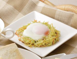 生活提案、レシピ、献立、巣ごもり卵のカレー風味、1406