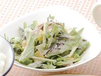 生活提案、レシピ、献立、水菜とひじきのカラフル和え、1336