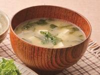 生活提案、レシピ、献立、わかめと豆腐の味噌汁、1345