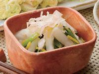 生活提案、レシピ、献立、大根と小松菜のゆず風味和え、1402
