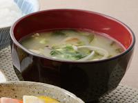 生活提案、レシピ、献立、焼ききのこのお味噌汁、1402