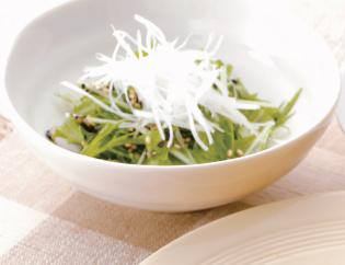 生活提案、レシピ、献立、季節野菜のごまごまサラダ、1337