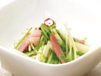 生活提案、レシピ、献立、水菜のペペロンチーノ風、1339