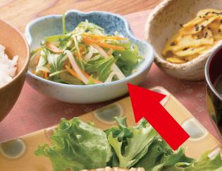 生活提案、レシピ、献立、しゃきしゃき野菜の3 色和え、1352