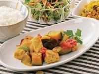 生活提案、レシピ、献立、チキンの夏野菜煮込み、1530