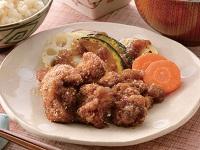生活提案、レシピ、献立、揚げない鶏唐揚げと秋野菜の玉ねぎソース、1539