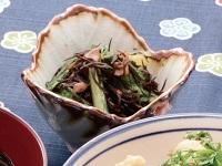 生活提案、レシピ、献立、ひじきと小松菜の梅煮、1535